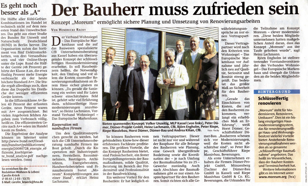 Presseartikel - MOREUM